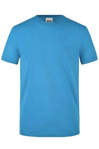 Mens Workwear T-Shirt - aqua