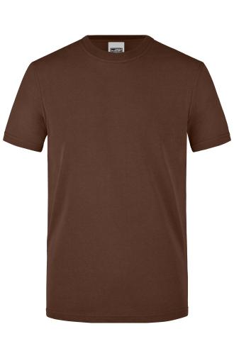 Mens Workwear T-Shirt - brown