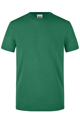 Mens Workwear T-Shirt - dark-green