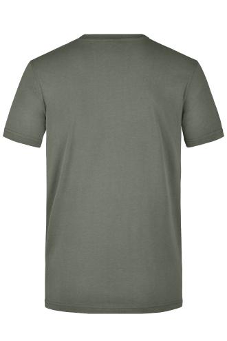 Mens Workwear T-Shirt - dark-grey