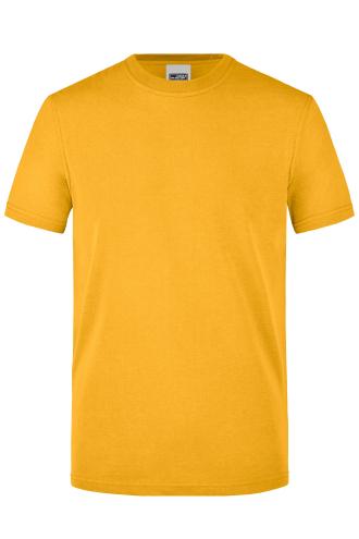 Mens Workwear T-Shirt - gold-yellow