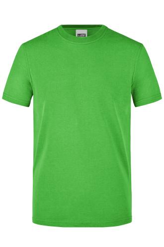 Mens Workwear T-Shirt - lime-green