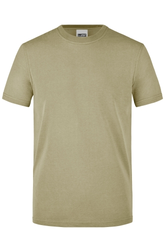 Mens Workwear T-Shirt - stone