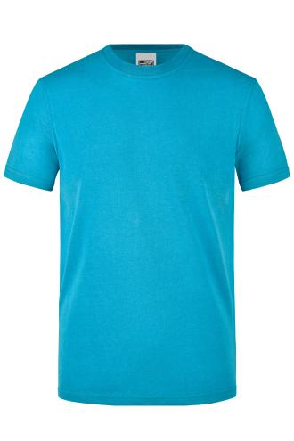 Mens Workwear T-Shirt - turquoise