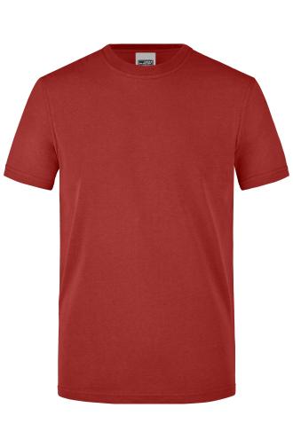 Mens Workwear T-Shirt - wine
