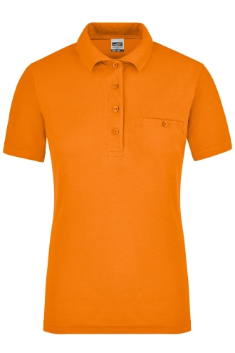 Ladies Workwear Polo Pocket - orange