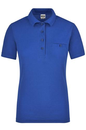 Ladies Workwear Polo Pocket - royal