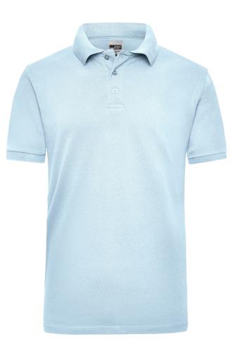 Workwear Polo Men - light-blue