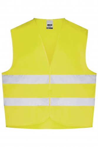 Safety Vest - fluorescent-yellow