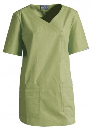 NATURE Damen-Schlupfhemd - hellgrün
