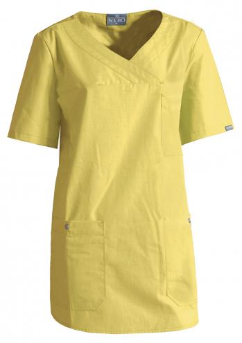 NATURE Damen-Schlupfhemd - gelb