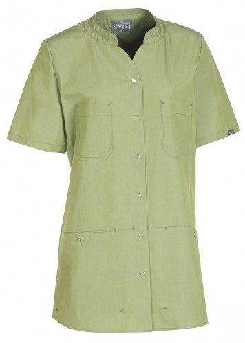 NATURE Damenkasack - hellgrün