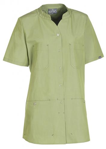 NATURE Damenschlupfkasack - hellgrün