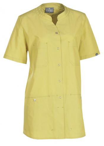 NATURE Damenschlupfkasack - gelb