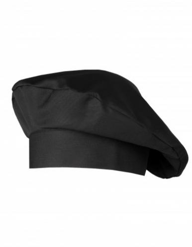 Kochmütze Fano Classic - schwarz