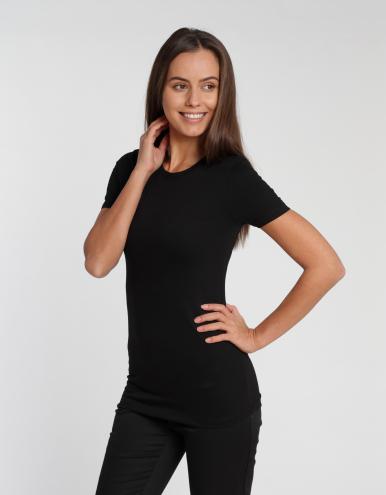 Damen T-Shirt Ragusa - schwarz