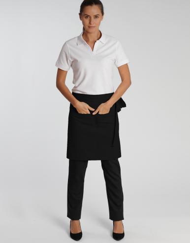 Roma Bag Classic - Schürze - schwarz 50 X 78 cm