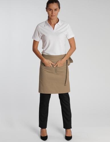 Roma Bag Classic - Schürze - khaki 50 X 78 cm