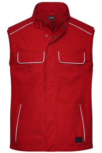 Workwear Softshell Light Vest - SOLID -