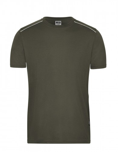 Mens Workwear T-Shirt - SOLID -